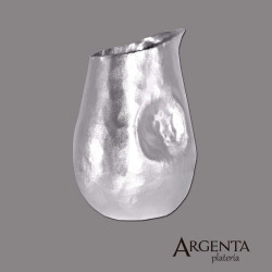 925 Grated Silver Pitcher -...