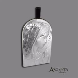Virgen para Colgar en Plata...