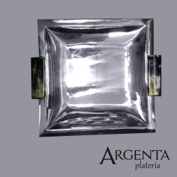 925 Sterling Silver Square...